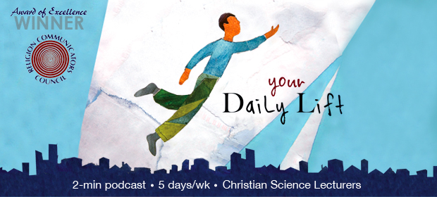 Image of Your Daily Lift Christian Science podcast